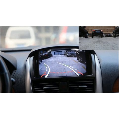 Cámara universal de visión trasera CS-8681A con líneas de aparcamiento dinámicas Vista previa  4