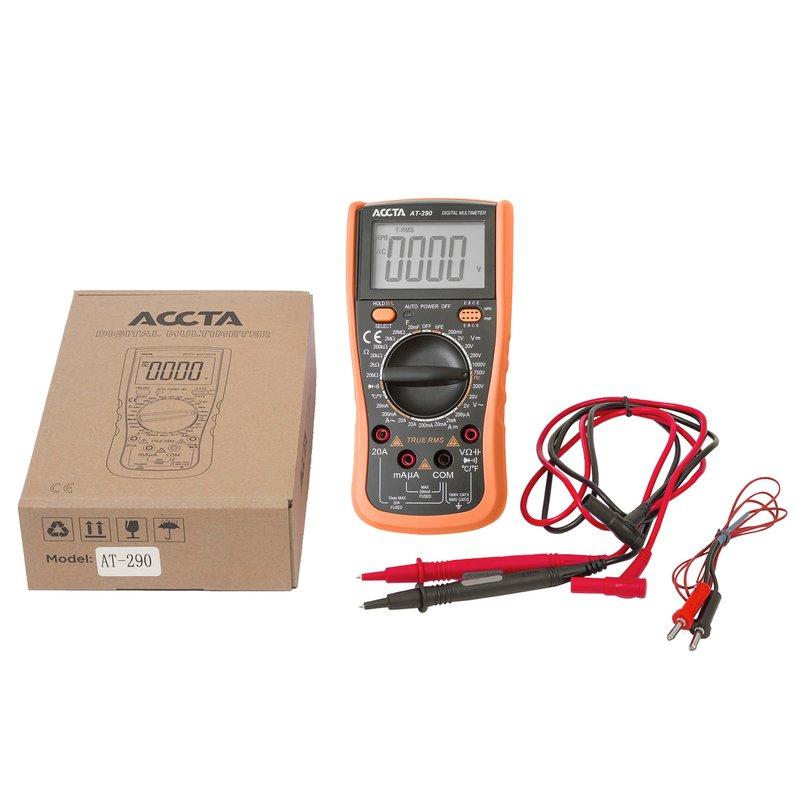 Цифровий мультиметр Accta AT-290 Зображення 3