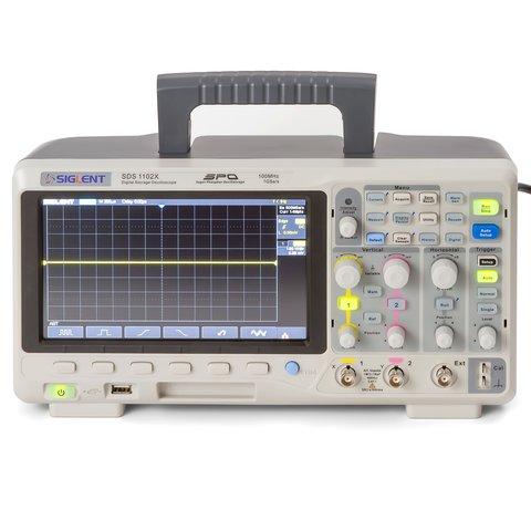Фосфорний цифровий осцилограф SIGLENT SDS1102X Прев'ю 3