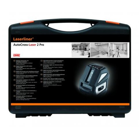 Лазерний рівень Laserliner AutoCross-Laser 2 Plus Прев'ю 5