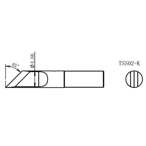 Паяльне жало Quick TSS02-K Прев'ю 1