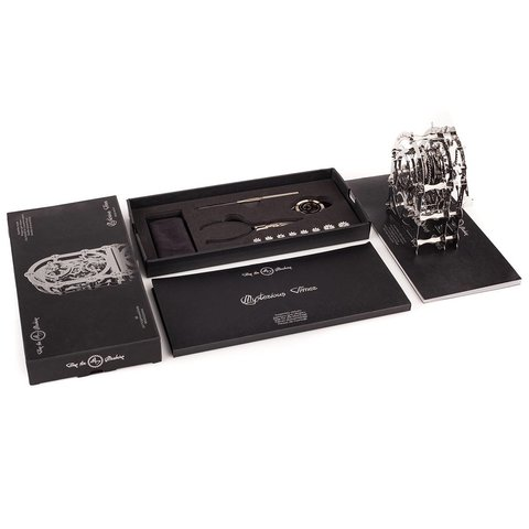 Металевий механічний 3D-пазл Time4Machine Mysterious Timer Прев'ю 11