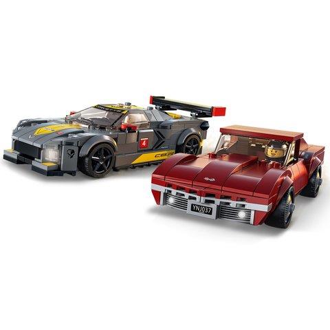 Конструктор LEGO Скоростные гонки Chevrolet Corvette 76903 Превью 2