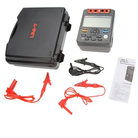 Insulation Tester UNI-T UT511 Preview 7