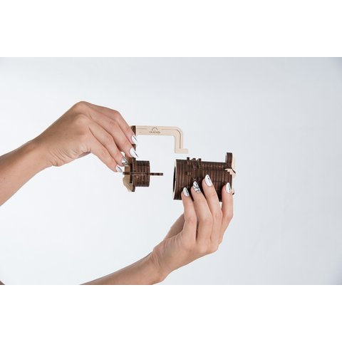 Mechanical 3D Puzzle UGEARS Combination Lock Preview 4
