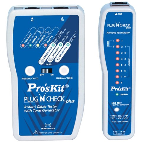 Lan Cable Tester Pro'sKit MT-7055 - Preview 2